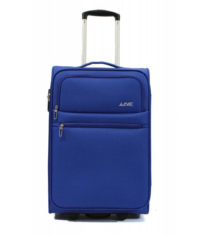 Line Brick 55cm Cabin Trolley aqua blue