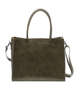 Zebra Trends Lisa Natural bag kartel army green