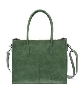 Zebra Trends Lisa Natural bag kartel glass green