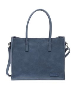 Zebra Trends Lisa Natural bag kartel jeans blue