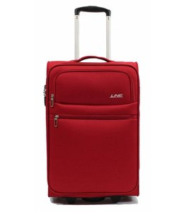 Line Brick 55cm Cabin Trolley red