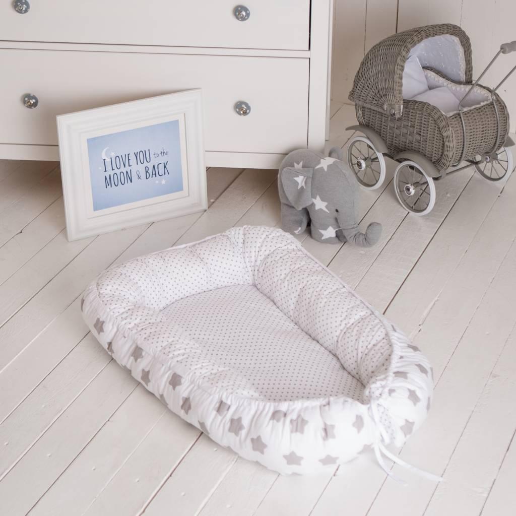 Babynest Quot Stars White Quot Puckdaddy Nursery Furniture