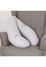 """Nursing pillow """"little dots grey"""""""