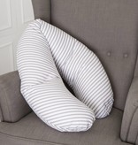 "Nursing pillow  ""stripes grey"""