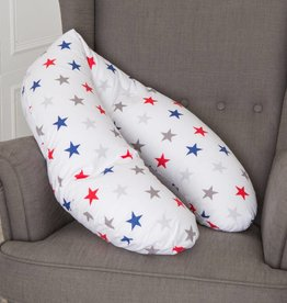 "Nursing pillow ""colourful stars"""