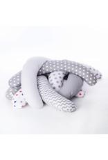 """Nursing Pillow """"Stars White"""""""
