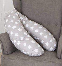 "Nursing pillow ""stars grey"""