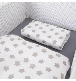 "Bed Linen ""Stars/ Dots white"""