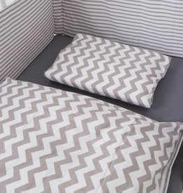 "Bed Linen ""Chevron/Stripes"""