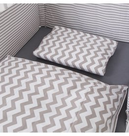 "Bed Linen ""Chevron/Stripes"""