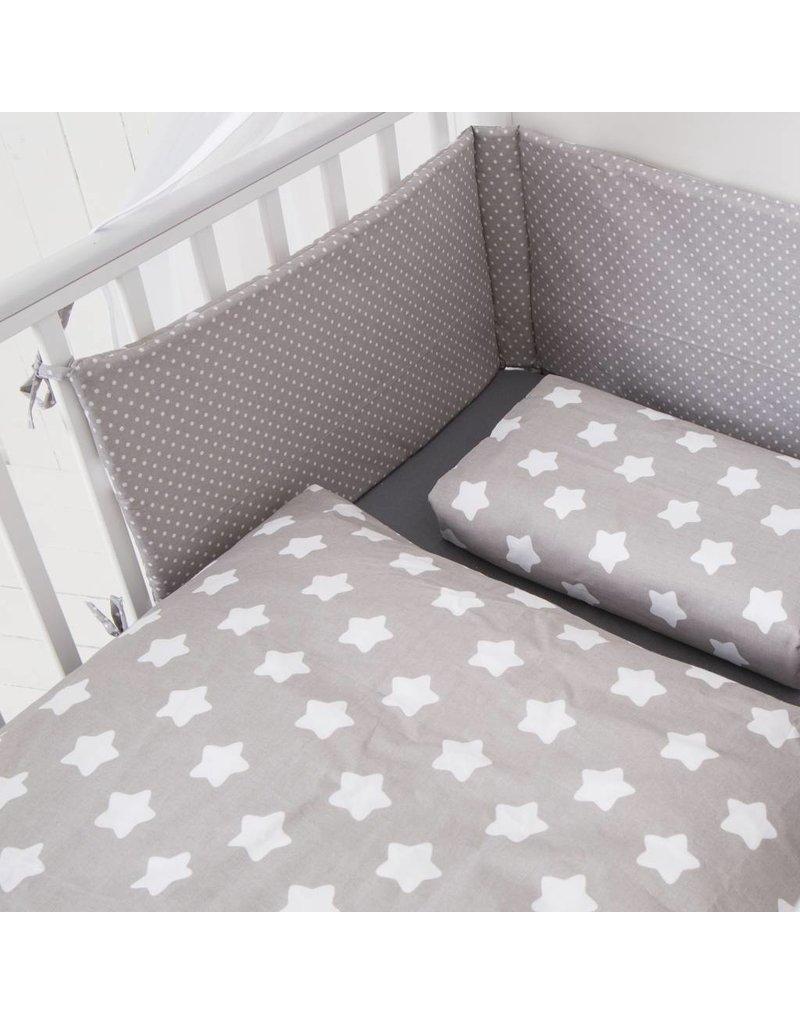 "Bedding Set ""Stars/Dots grey"""