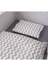 "Bedding Set ""Chevron/ Stripes"""