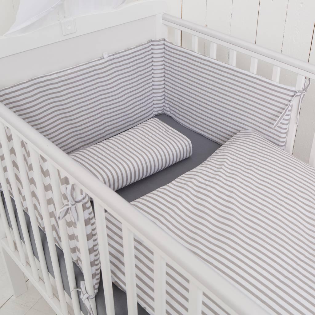 "Bedding Set ""Chevron/ Stripes"""