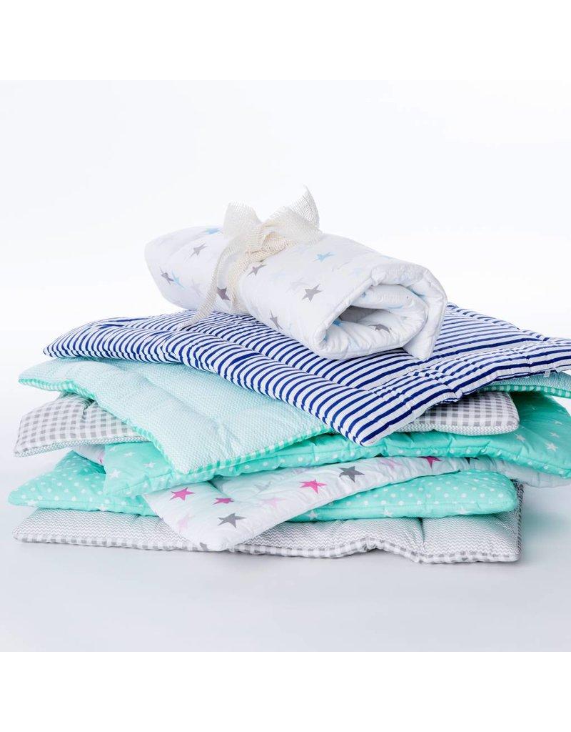 """""""chevron grey white/ stripes"""" changing mat"""