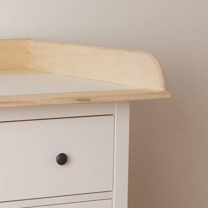 Xxl bois naturel plan langer en 108 cm pour tous les - Plan table a langer en bois ...