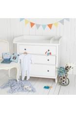 Wickelaufsatz XXL Rund & Trennfach für IKEA Hemnes