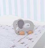 """Puckdaddy Wickelaufsatz """"Wolke 4"""" in weiß für IKEA Malm Kommode"""