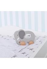 """Wickelaufsatz """"Wolke 4"""" in weiß für IKEA Malm Kommode"""