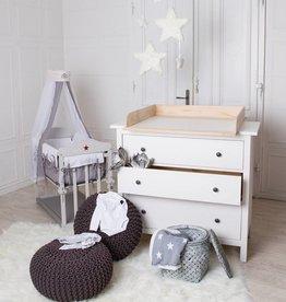 Bois naturel! Plan à langer pour tous les commodes IKEA Hemnes/ Hurdal