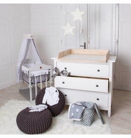 Bois naturel! Plan à langer pour tous les commodes IKEA Hemnes/ Songesand
