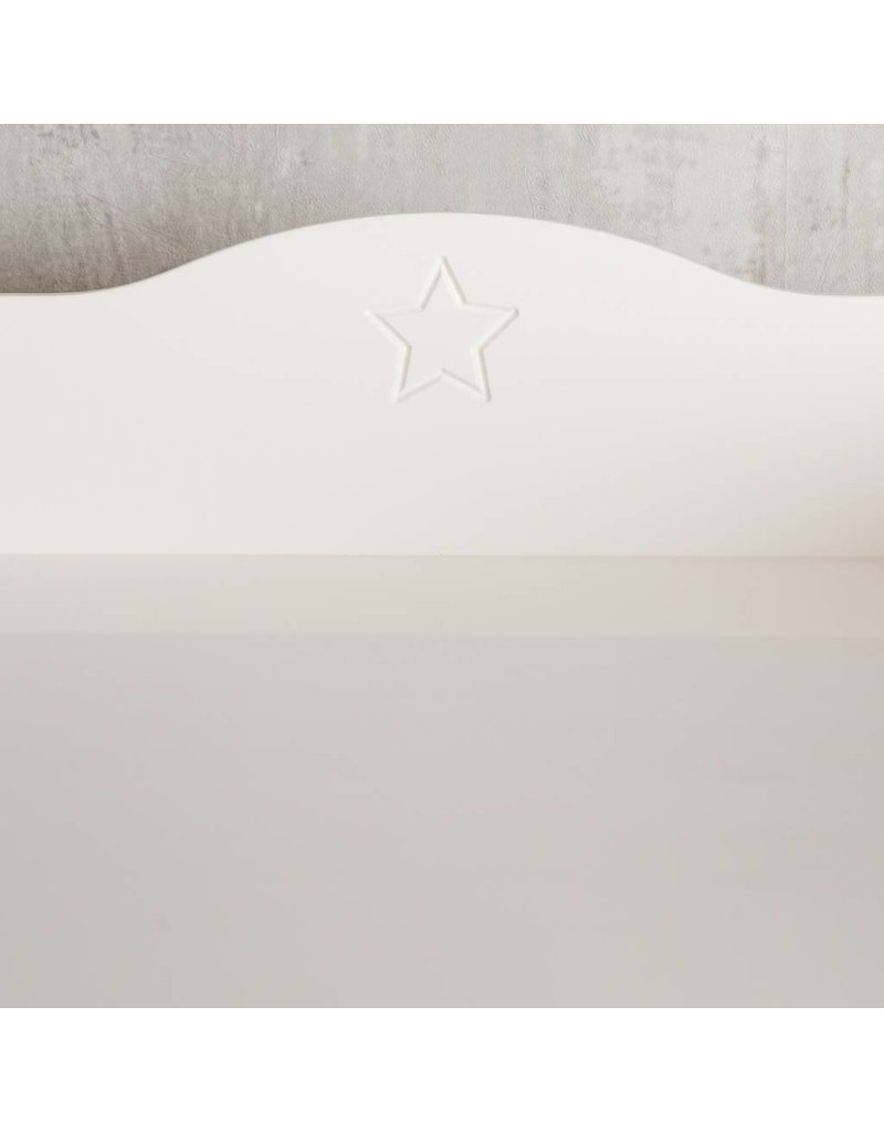 """Wickelaufsatz  """"Standard Stern Extrarund"""" - Sterngravur"""