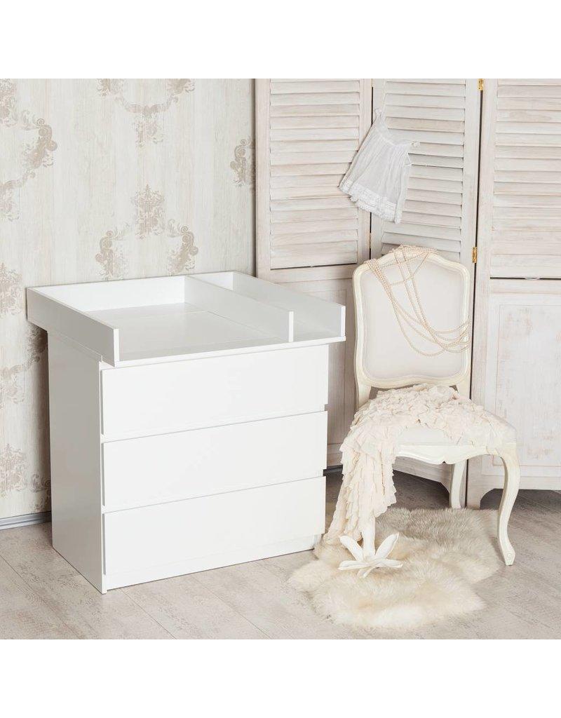 Wickelaufsatz Trennfach Fur Ikea Malm Brusali Kommode Weiss