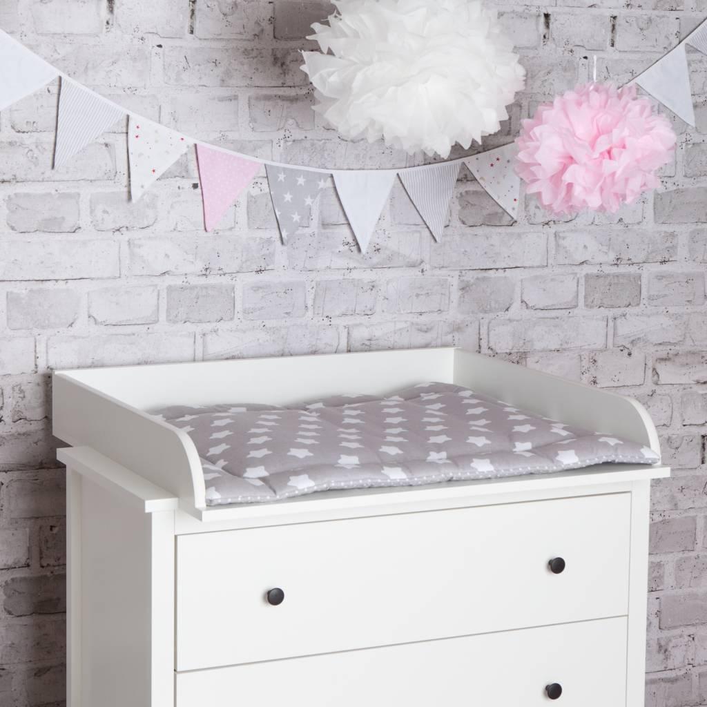 """Wickelaufsatz """"Rund"""" in weiß für IKEA Koppang"""