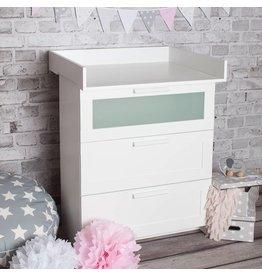 """Wickelaufsatz """"Basic"""" für IKEA Brimnes Kommode"""