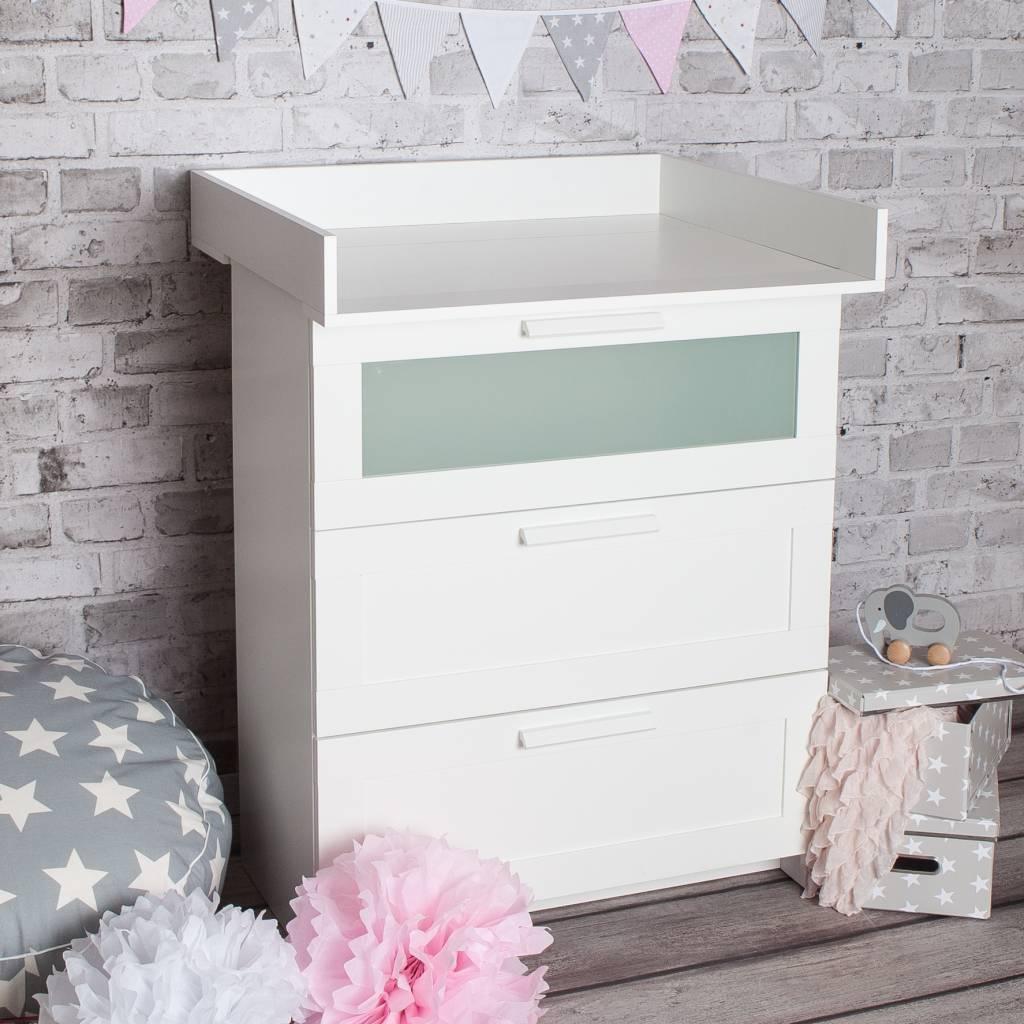 wickelaufsatz von puckdaddy f r ikea brimnes kommode puckdaddy. Black Bedroom Furniture Sets. Home Design Ideas