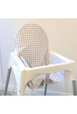 """Sitzkissen """"Chevron/kariert""""  für Ikea Antilop"""