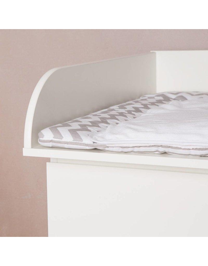 Ausstellungsstück Wickelaufsatz mit 15cm Seitenhöhe für IKEA Malm