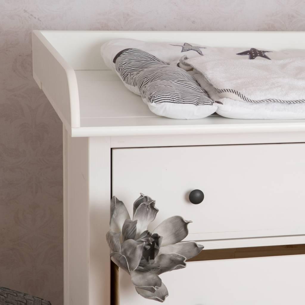 Extra Bords arrondis H Plan /à langer pour tous les commodes IKEA Hemnes