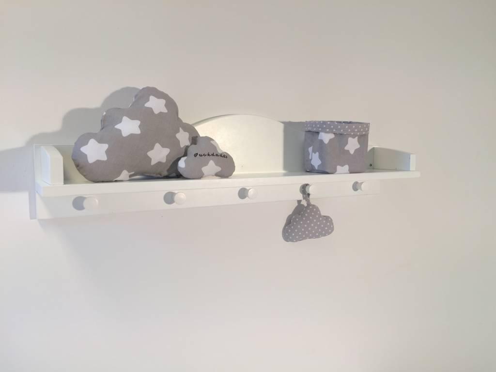 Ausstellungsstück Wandregal Wolke