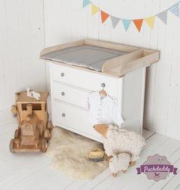 """""""XXL-H+"""" bois naturel et séparation! Plan à langer pour tous les commodes IKEA Hemnes - Copy"""