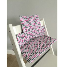 """Highchair cushion """"Tipis multicolor"""" for Stokke Trip Trapp"""