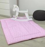 """Krabbeldecke """"Sterne rosa"""", 140x100cm"""
