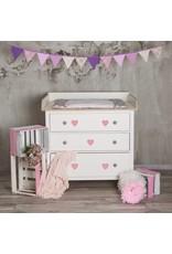 Sticker Herzen rosa mini - 15er Set