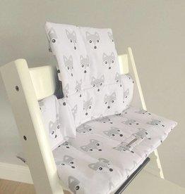 """Coussin """"Renards"""" pour chaise haute Stokke Tripp Trapp"""