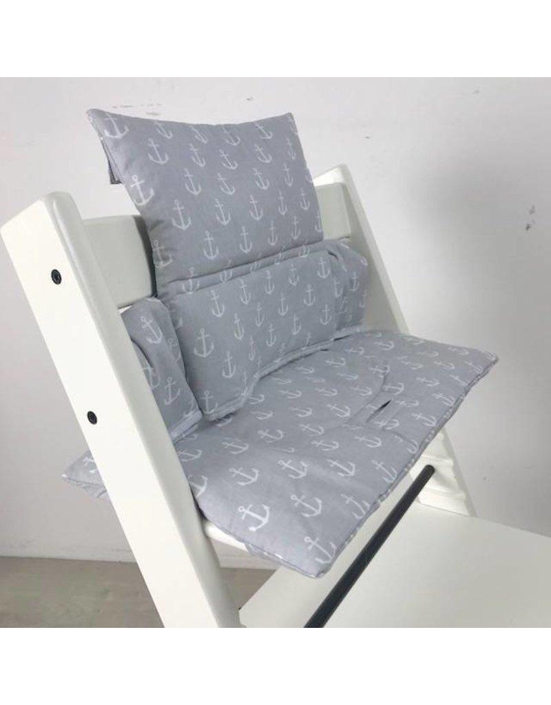 """Sitzkissen """"Anker grau"""" für Stokke Tripp Trapp"""