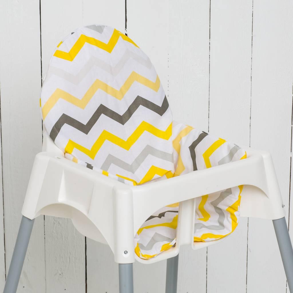 """Sitzkissen """"Chevron Gelb""""  für Ikea Antilop"""