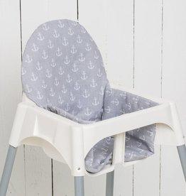 """Coussin """"Ancre"""" pour chaise haute"""