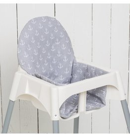 "Highchair cushion ""Anchor"""