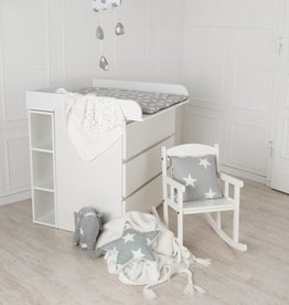 wickelaufsatz trennfach f r ikea malm brusali kommode wei puckdaddy die kinderm bel. Black Bedroom Furniture Sets. Home Design Ideas