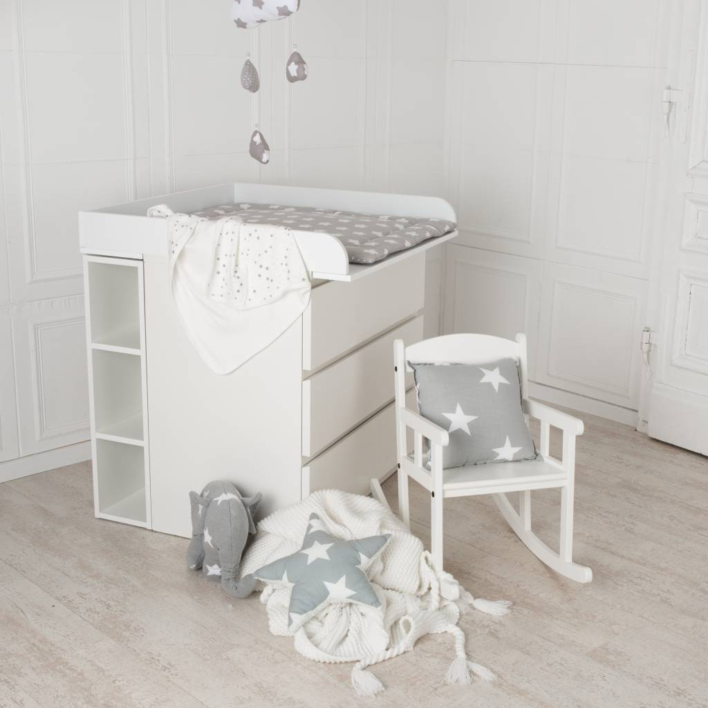 storage shelf for ikea malm and koppang dresser nursery furniture textiles. Black Bedroom Furniture Sets. Home Design Ideas