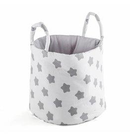 "Storage Basket ""Stars white"""