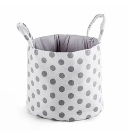 "Storage Basket ""Dots white"""