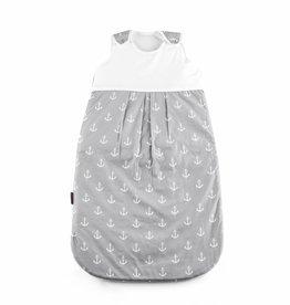 "Baby sleeping bag ""Ancre grey big"""