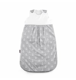 "Baby sleeping bag ""Ancre grey big"""