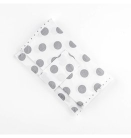 "Nappy Pouch ""Dots white"""