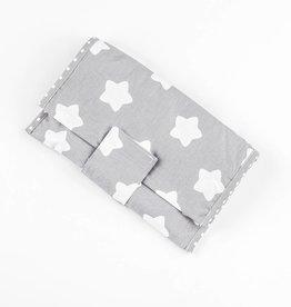 "Nappy Pouch ""Stars grey"""